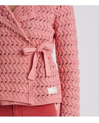 Odd Molly Symmetry Moves Cardigan - Pink
