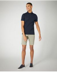 Remus Uomo Slim Fit Cotton Stretch Chino Shorts Khaki | - Green
