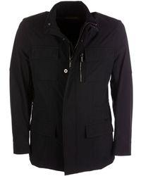 Moorer Dark Blue Jacket
