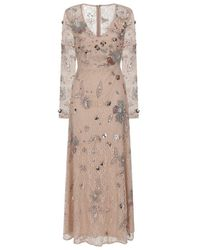 Frock and Frill Fairy Embellished Lace Maxi Dress - Multicolour