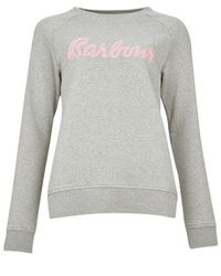 Barbour Otterburn Sweatshirt , Colour: - Gray