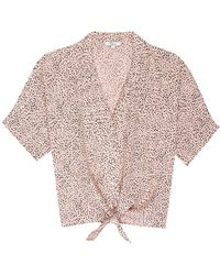 Rails - Thea Shirt Rose Spotted - Lyst