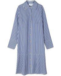 Libertine-Libertine Ease Dress Royal Stripe - Blue