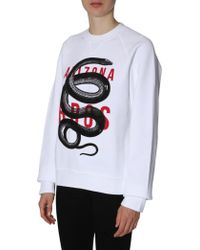 DSquared² Cool Fit Sweasthirt - White