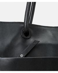 Liebeskind Berlin Leather Shopper Bag - Black