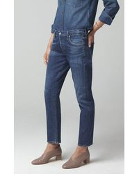Citizens of Humanity Emerson Slim Fit Boyfriend Next To You Jeans - Blue