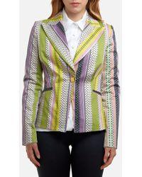 LES BOURDELLES DES GARÇONS Long Sleeve Jacket With Fantasy - Multicolour