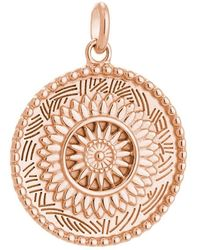 Kirstin Ash Bespoke Traveler Coin Charm - Rose Gold - Multicolor