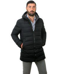 Herno Giaccone Uomo Pi0570u 12004 9389 - Black