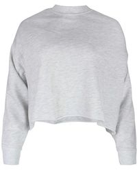 J Brand Wendy Cropped Sweatshirt - Grey