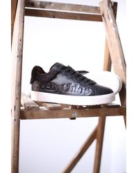 See By Chloé Shearling Lined Black Sneakers