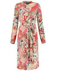 POM Amsterdam Sp6212 Dress - Full Of Luck Raspberry - Pink