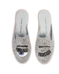 Chiara Ferragni Mules Glitter - Metallic