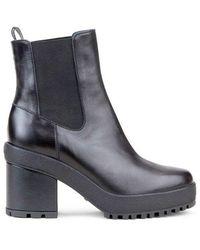 Hogan Boots Chelsea H537 Black Leather