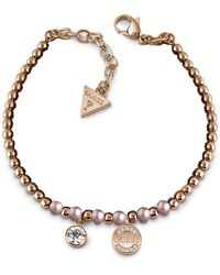 Guess Uptown Chic Bracelet - Pink