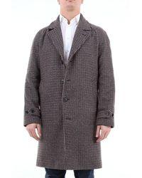 Paltò Paltãƒâ2 Single-breasted Fancy Coat - Grey