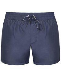 Dolce & Gabbana Dg Logo Swim Shorts - Black