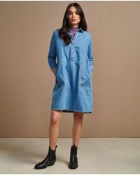 Bellerose Pame Denim Dress - Blue
