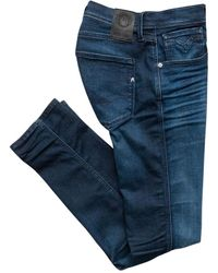Replay Slim Fit Jeans Blue Hyperflex 661 E05.007