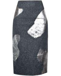 Rejina Pyo Sasha Skirt - Grey