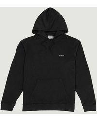 Avnier Vertical Organic Hoodie - Black