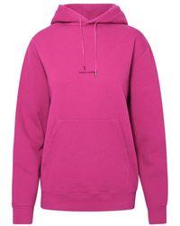 Saint Laurent Saint Laurent Fuchsia Cotton Sweatshirt - Pink