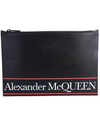 McQ Pouch With Logo - Black