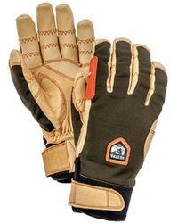Hestra Ergo Grip Active Glove Dark Forest / Natural Brown