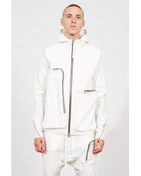 Thom Krom Msj 447 Jacket White Colour: White,