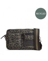 Markberg Darla Crossbody Bag In Olive Animal Army - Green