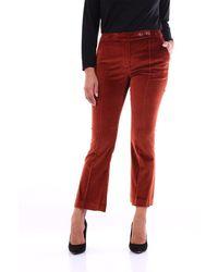 PT Torino Pants Chino Women Rust - Orange