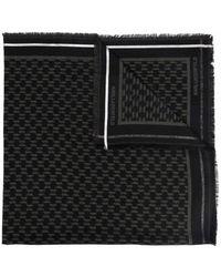 Karl Lagerfeld Cotton Scarf - Black