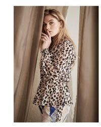 NÜ Leopard Blouse - Multicolour