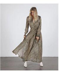 Birgitte Herskind Paula Dress Leopard - Multicolour