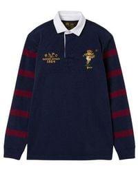 Polo Ralph Lauren Bear Rugby Knitwear Navy - Blue