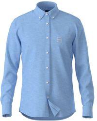 BOSS by Hugo Boss Boss Mabsoot_1 Shirt , Colour:blue
