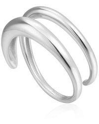 Ania Haie Twist Ring - Metallic
