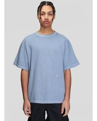 Schnayderman's Pique Gd T-shirt - Blue