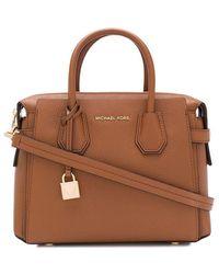Michael Kors Women's 30s9gm9s1l230 Brown Leather Handbag