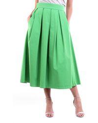 Department 5 Cotton Skirt - Green