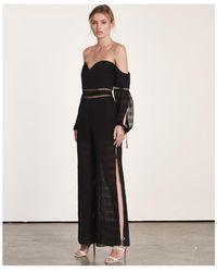 Elliatt - Aura Jumpsuit Black - Lyst