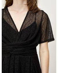 Just Female Dotty Dress - Black