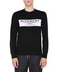 Givenchy Crew Neck Sweater - Black