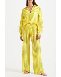 Kalmar Celia Brush Stripe Mix Stripe - Yellow