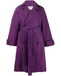 Henrik Vibskov Plus Coat - Purple