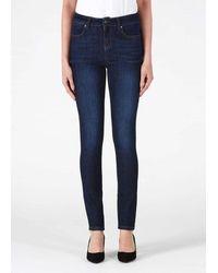 Donna Ida Ivy Skinny Jeans - 50's Monroe - Blue