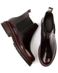 H by Hudson Hudson Wisty Oxblood Boots - Black