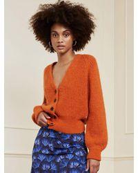 FABIENNE CHAPOT Starry Cardigan - Orange