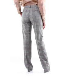 MSGM Trousers Classics And White - Black