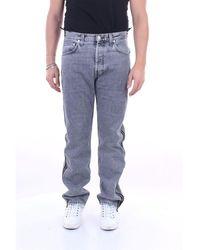 Helmut Lang Jeans Straight Men Gray